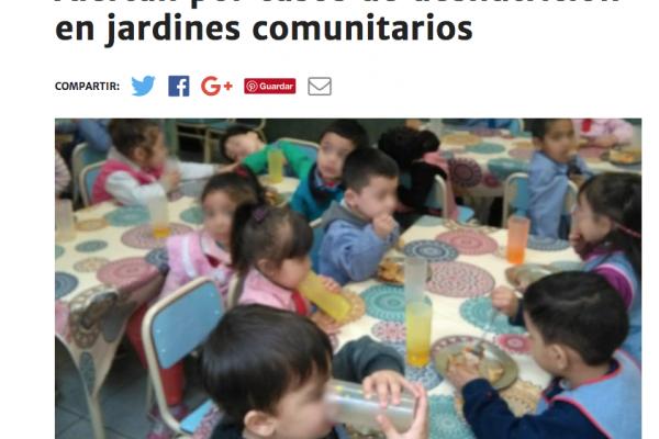 Alertamos por casos de desnutrición en La Matanza